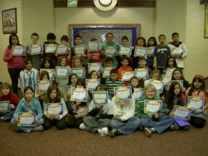 Turtle Creek Fifth Grade A Honor Roll