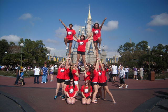 Cheer at Disney