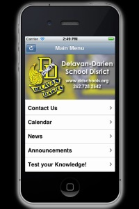 DD Schools iPhone App
