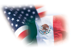 MexicanAmericanFlags