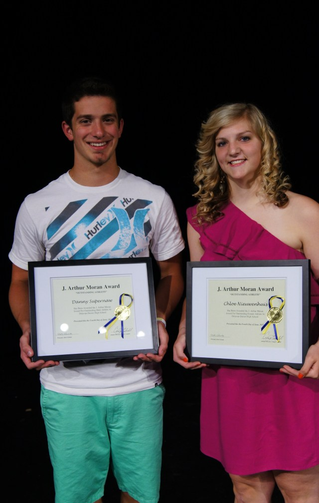 Outstanding Athlete Award Spring 2013