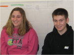 Casey Truckey and Nicholas Walsh won the Titan Challenge during period 7.