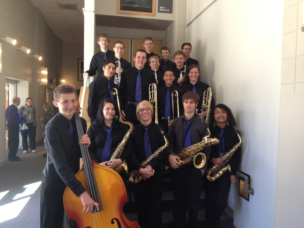 The DDHS Jazz Ensemble received a Division I rating at the WSMA State Solo and Ensemble Festival at UW-Whitewater.