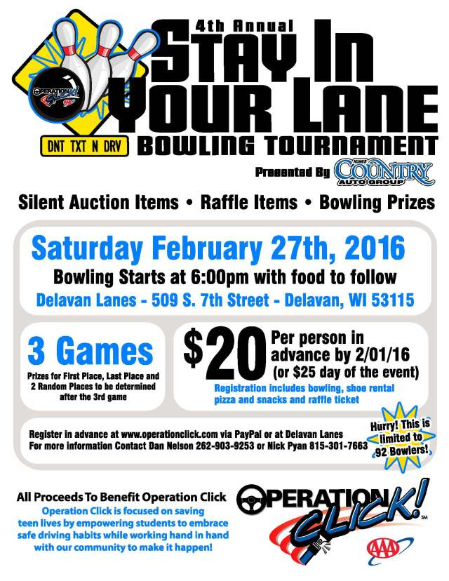 Operation Click Bowling Tournament 2016